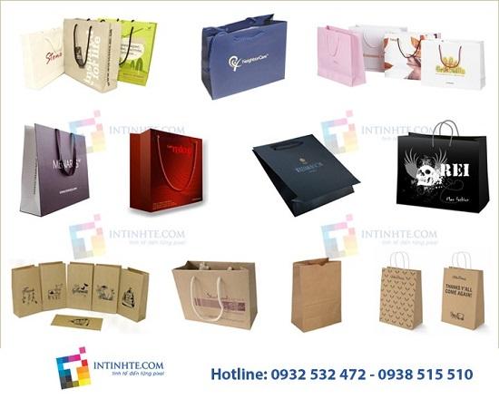 Tìm hiểu về dịch vụ in túi giấy giá rẻ tại công ty in Tinh Tế