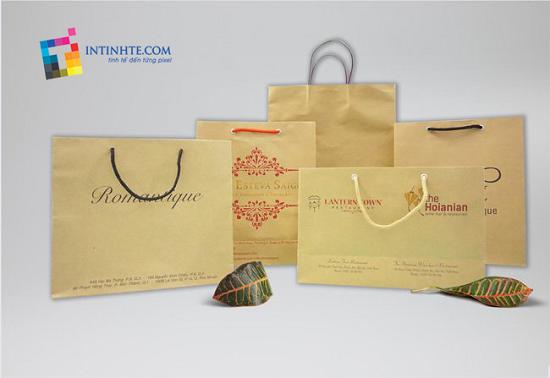Sự tiện lợi và cần thiết của in túi giấy giá rẻ