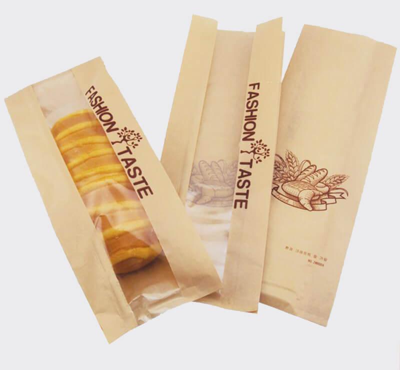 Có nên in túi giấy đựng bánh mì hay không?