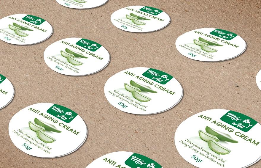 Hình thức in nhãn decal giấy – tiện lợi, tiết kiệm